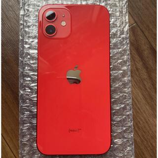 iPhone - iPhone12 SIMフリー 128GB レッド 超美品