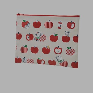 ファミリア りんご フラットポーチ(ポーチ)