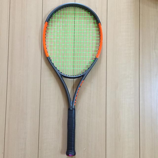 wilson(ウィルソン)のウイルソン 硬式テニスラケット BURN スポーツ/アウトドアのテニス(ラケット)の商品写真