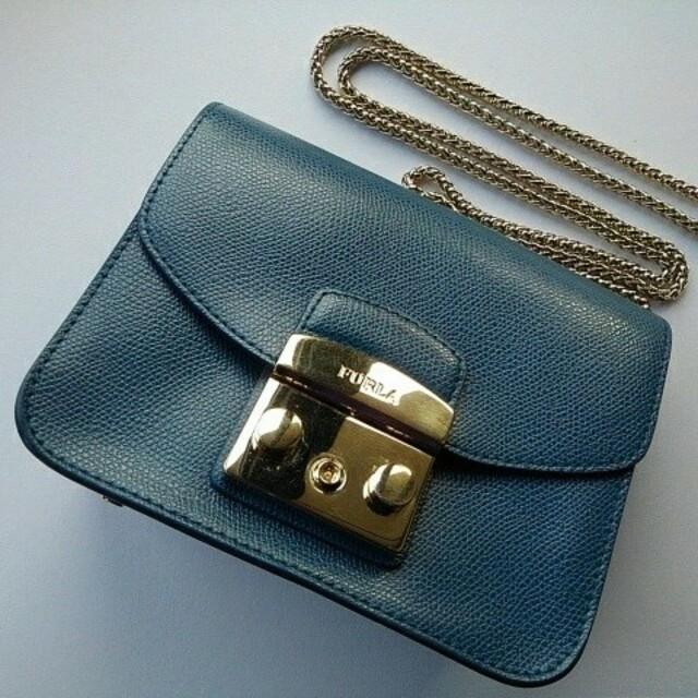 Furla(フルラ)のFURLA フルラ ショルダーバック メトロポリス ネイビー レディースのバッグ(ショルダーバッグ)の商品写真