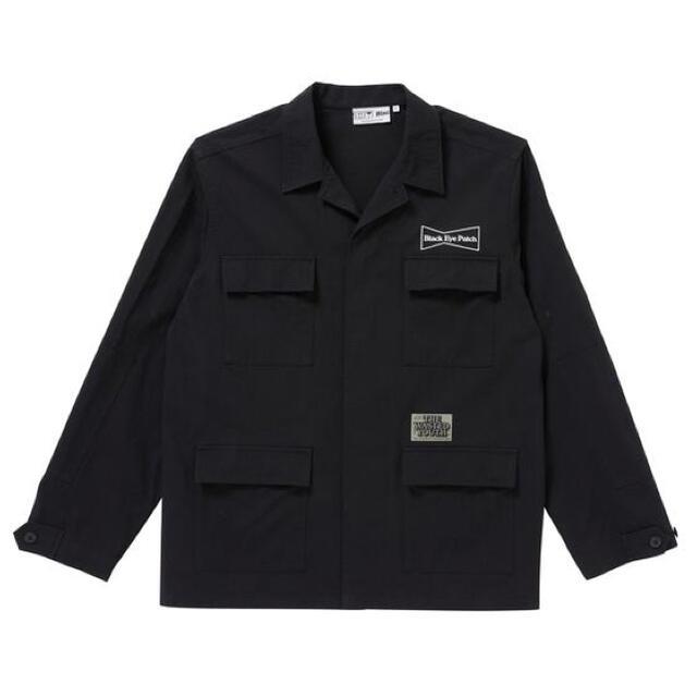 GDC(ジーディーシー)のBLACK EYE PATCH WASTED YOUTH ワークジャケット L メンズのジャケット/アウター(その他)の商品写真