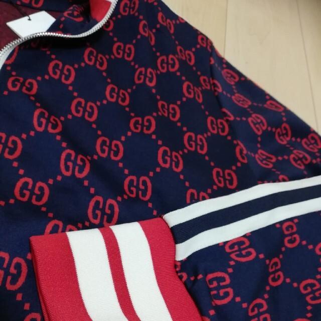 Gucci(グッチ)のggジャージ GUCCI XL ジャージ 赤 メンズのトップス(ジャージ)の商品写真