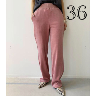 L'Appartement DEUXIEME CLASSE - 新品 アパルトモン ◆ アメリカーナ Pile Relax PANTS  36