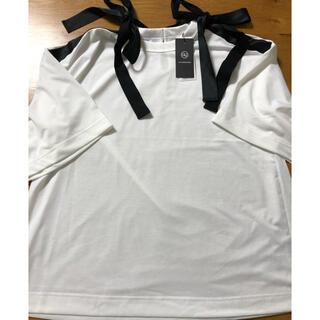 アンダーカバー(UNDERCOVER)のGU×UNDERCOVER リボンデザインTシャツ M  新品(Tシャツ(半袖/袖なし))