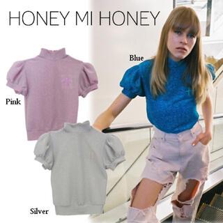 Honey mi Honey - Honey mi Honey グリッタートップス