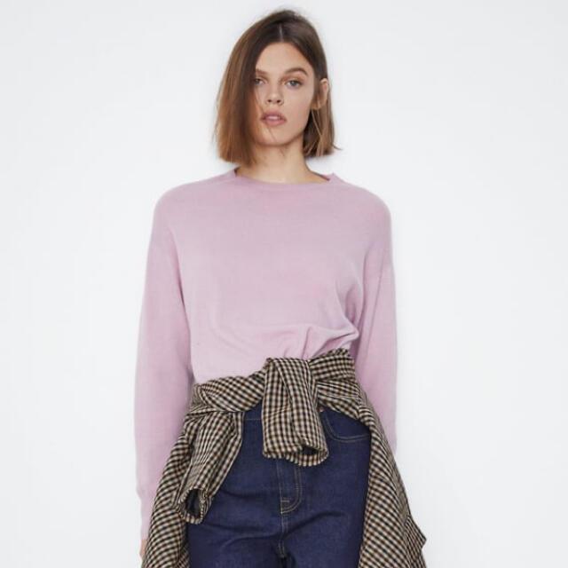 ZARA(ザラ)のザラシームレスウールセーター レディースのトップス(ニット/セーター)の商品写真