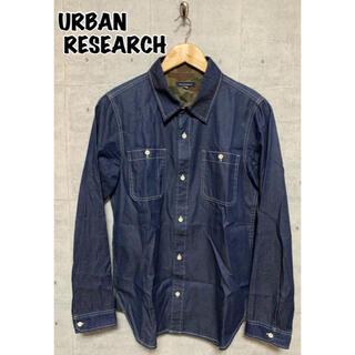URBAN RESEARCH - URBAN RESEARCH/アーバンサーチ メンズデニムシャツ