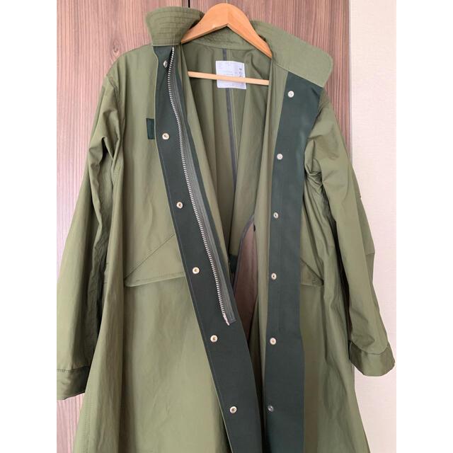 sacai(サカイ)のsacai oxford coat サカイ オックスフォード コート レディースのジャケット/アウター(ロングコート)の商品写真