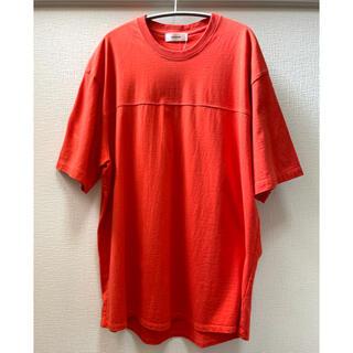 エディフィス(EDIFICE)のalvana EDIFICE 別注 フットボール Tシャツ(Tシャツ/カットソー(半袖/袖なし))