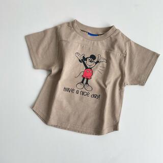しまむら - 体操ミッキー Tシャツ しまむら