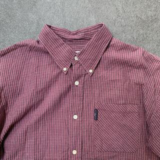 ダンロップ(DUNLOP)の古着 ヴィンテージ FIELD CABIN ダンロップ チェックシャツ 半袖(シャツ)