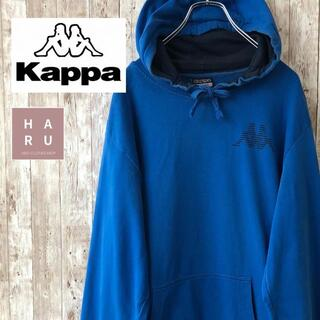 Kappa - カッパ kappa ビッグシルエット プルオーバーパーカー ビッグサイズ