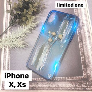"""メリージェニー(merry jenny)の【""""O""""case.】ニュアンス iPhoneケース【iPhone  X, Xs】(iPhoneケース)"""
