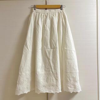 サマンサモスモス(SM2)のサマンサモスモス スカラップペチスカート オフ(ロングスカート)