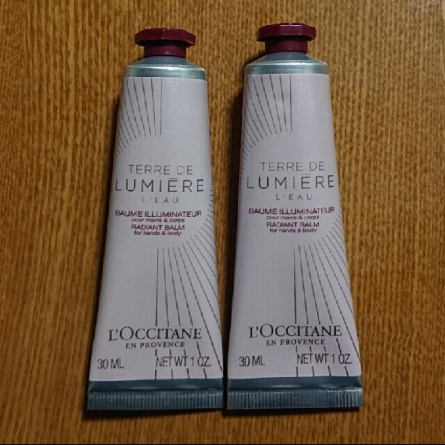 L'OCCITANE(ロクシタン)のL'OCCITANE ルミエール コスメ/美容のボディケア(ハンドクリーム)の商品写真