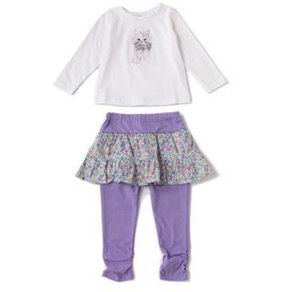ANNA SUI mini - アナスイミニ 猫モチーフTシャツ×レギンスセットアップ
