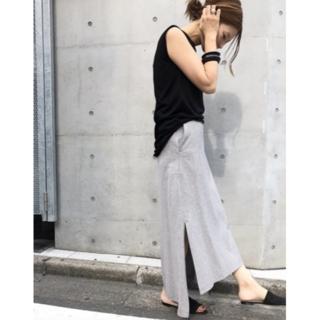 DEUXIEME CLASSE - 美品Deuxieme Classe  AMERICANAスエットスカート