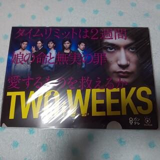 【値下げ】「two weeks 」クリアファイル  三浦春馬