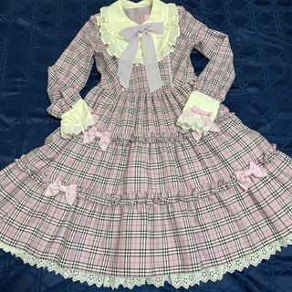 Angelic Pretty - cute Candy check op
