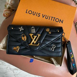 LOUIS VUITTON - ◆louis vuittonルイヴィトン♪ポルトフォイユ ロン ラブロック長財布
