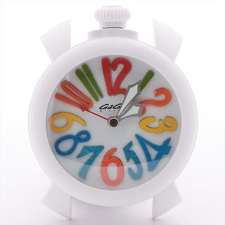 ガガミラノ(GaGa MILANO)のガガミラノ 置時計 プラスチック   ユニセックス その他腕時計アクセサリ(腕時計)