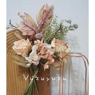【おまけ付き】花束 造花 母の日 ブーケ フェイクグリーン 観葉植物(その他)