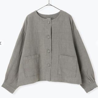 TSUHARU by Samansa Mos2 リネンショートジャケット
