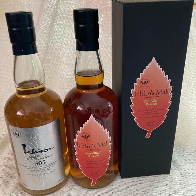 イチローズモルト WWR 505 食品/飲料/酒の酒(ウイスキー)の商品写真