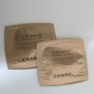 CHANEL - CHANEL☆レサンス ドゥ タン 2包