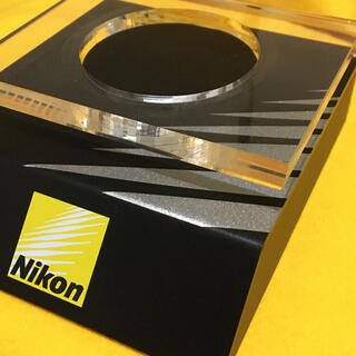 Nikon - NIKON 珍品 店頭用什器 非売品 レンズディスプレイ台 良品