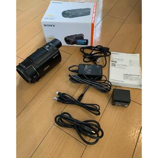SONY - SONY FDR-AX60  黒 ax60 4K ハンディカム ax45 zv1