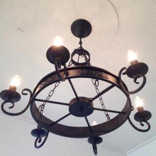 アクタス(ACTUS)の送料込み 天井照明 シャンデリア アンティーク 6灯(天井照明)