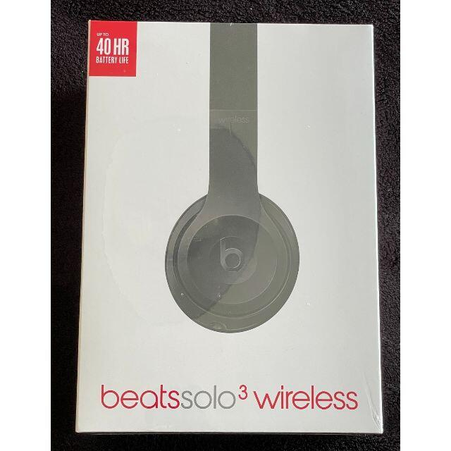 Beats Solo3 Wireless オンイヤーヘッドフォン スマホ/家電/カメラのオーディオ機器(ヘッドフォン/イヤフォン)の商品写真