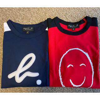 agnes b. - アニエスベーキッズ8歳 2点セット長袖Tシャツ 新品未使用品