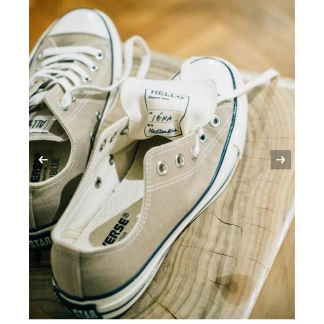 IENA(イエナ)のIENA CONVERSE×MADISONBLUE×IENA 24.5 レディースの靴/シューズ(スニーカー)の商品写真