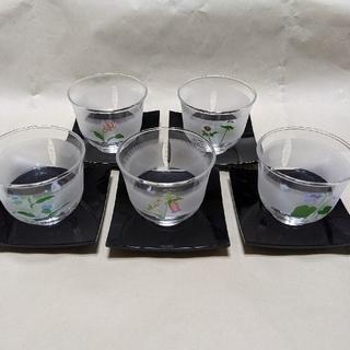 トウヨウササキガラス(東洋佐々木ガラス)の東洋佐々木硝子 冷茶セット 江戸友禅(グラス/カップ)