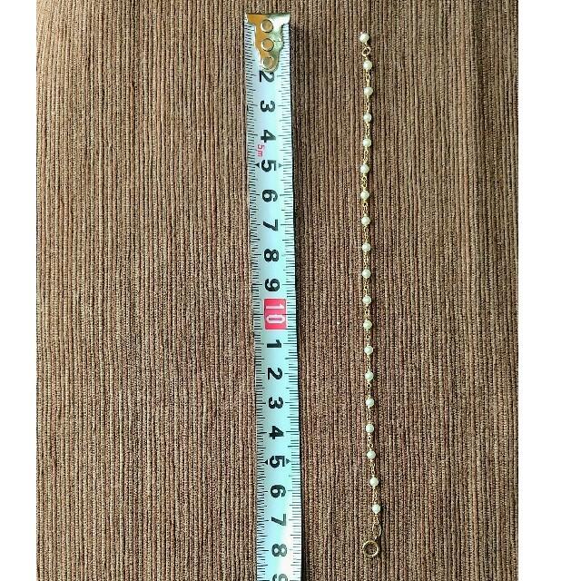 agete(アガット)のagete パールブレスレット レディースのアクセサリー(ブレスレット/バングル)の商品写真