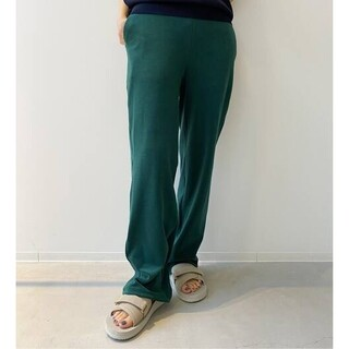 L'Appartement DEUXIEME CLASSE - 【AMERICANA/アメリカーナ】Pile Relax PANTS◇36