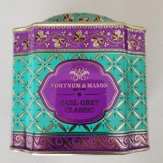 アールグレイクラシック デコラティブ缶 ルーズリーフ紅茶(茶)