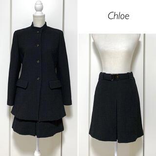 クロエ(Chloe)の【美品】日本製★miss chloe ジャケット&スカート  セットアップ(セット/コーデ)