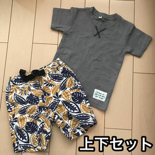 JUNK STORE - ジャンクストア パンツ ハーフパンツ 80cm Tシャツ ☆上下セット☆匿名配送