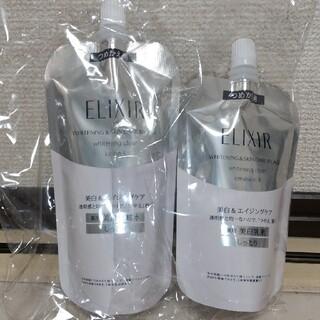 ELIXIR - エリクシール ホワイト しっとり化粧水&乳液 詰替セット