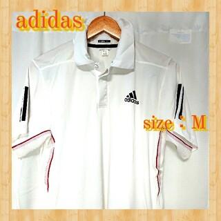アディダス(adidas)のadidas アディダス メンズ トップス ポロシャツ Tシャツ テニス 白(ウエア)