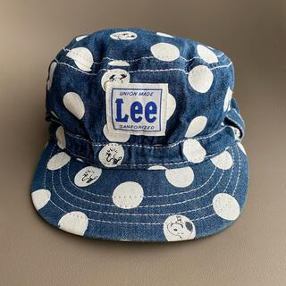 セブンデイズサンデイ(SEVENDAYS=SUNDAY)のLee×スヌーピー キャップ 50cm(帽子)
