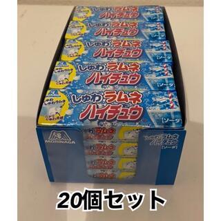 森永製菓 しゅわラムネハイチュウソーダ 7粒×20個