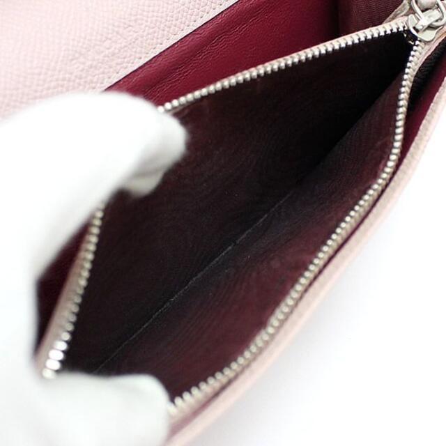 BVLGARI(ブルガリ)のブルガリ 二つ折り 長財布 レザー BB金具 ピンク 30415【53552】 レディースのファッション小物(財布)の商品写真