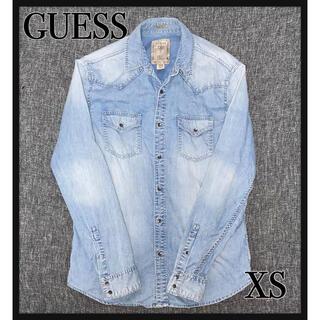 GUESS - GUESS コットンデニムシャツ 美品