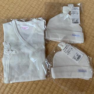 コンビミニ(Combi mini)の新生児肌着、キャップ(肌着/下着)