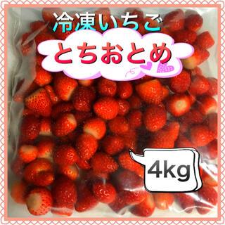 冷凍とちおとめ 現品限り特別価格 4kg ゆん様専用(フルーツ)