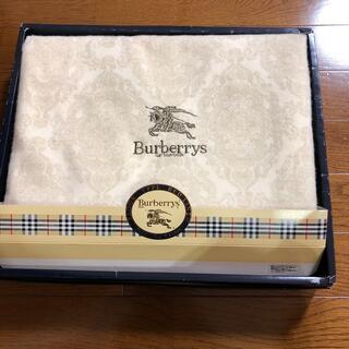 BURBERRY - バーバリー綿毛布タイムセール